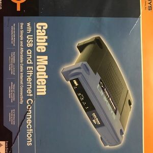 LINKSYS new cable modem